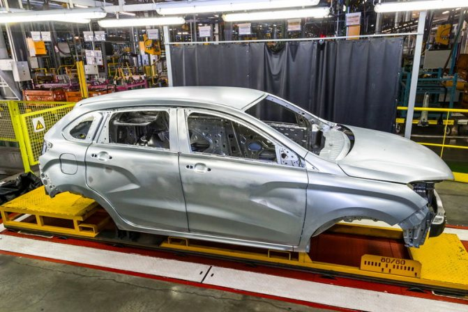 Какие авто имеют оцинкованный кузов и каким образом наносится покрытие