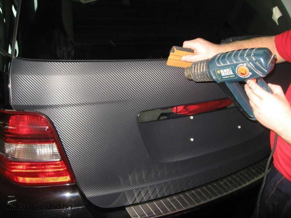 Оклейка авто виниловой пленкой своими руками