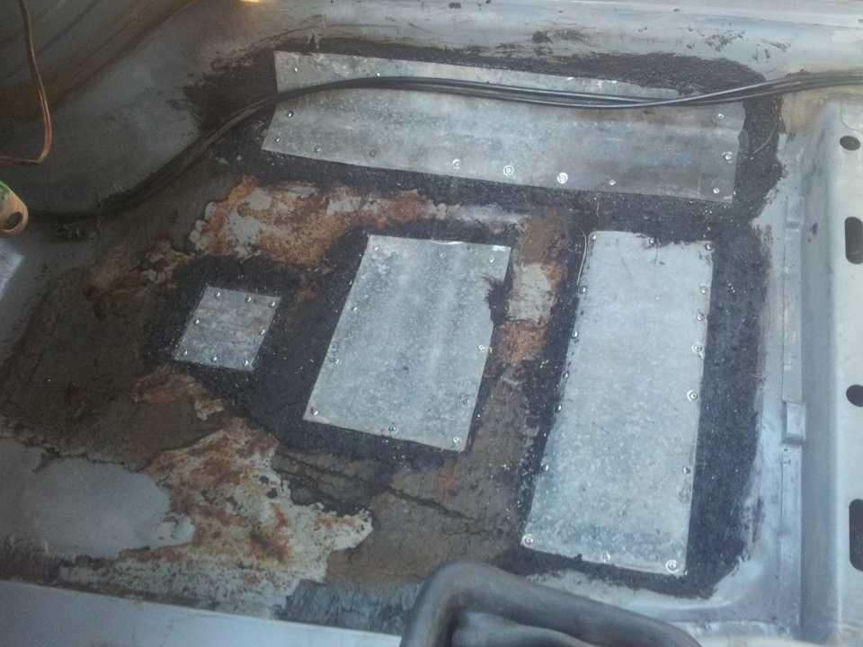Как заделать дыру в кузове не используя сварки? мы знаем ответ! | ваз ремонт