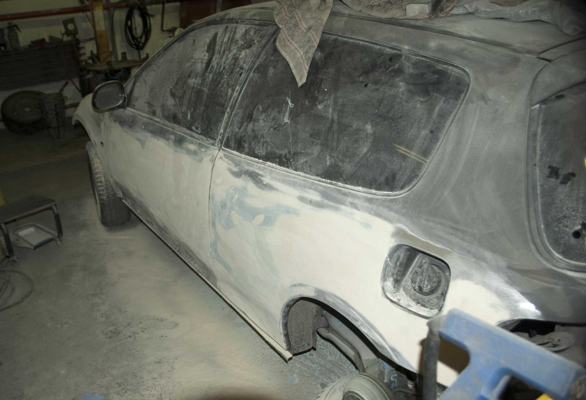 Подготовка к покраске и покраска автомобиля своими руками. полный набор инструкций