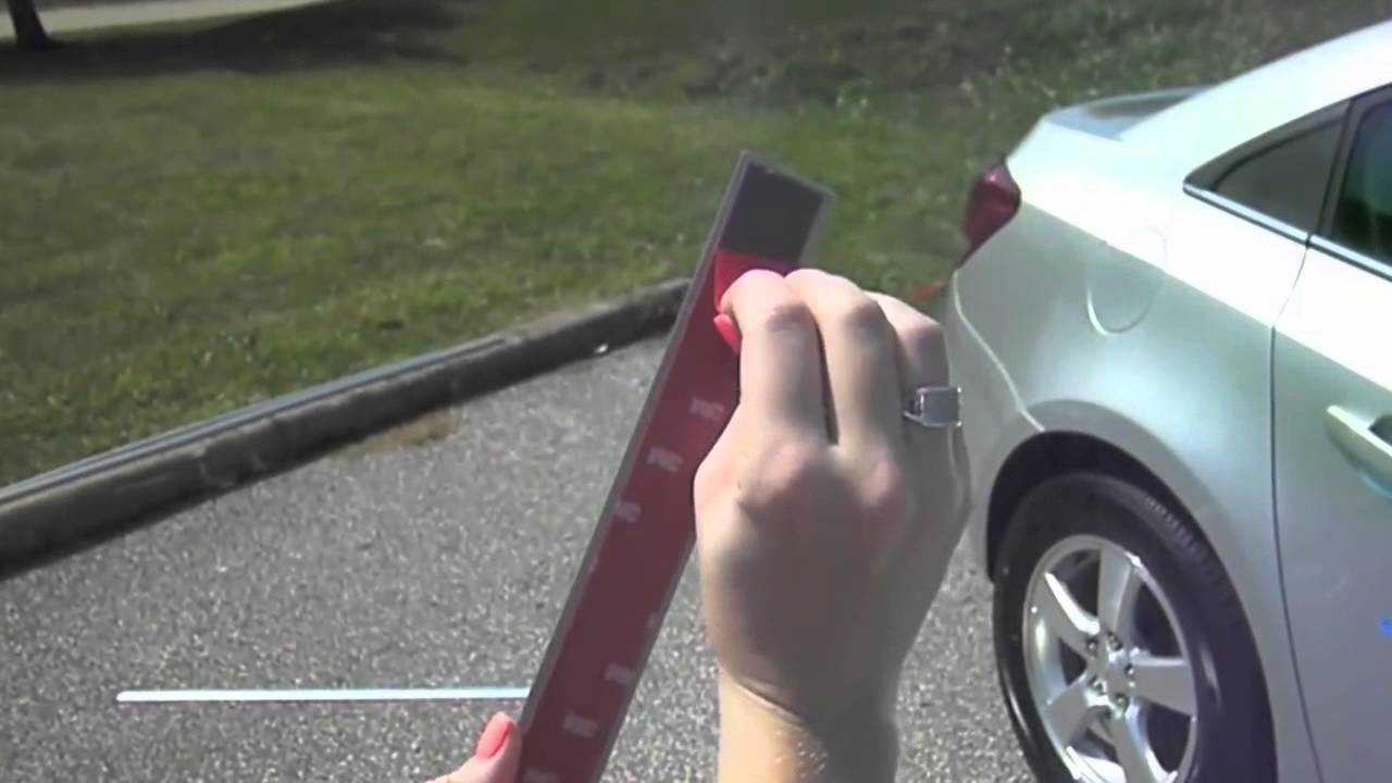 Какая польза от молдингов на дверях машины