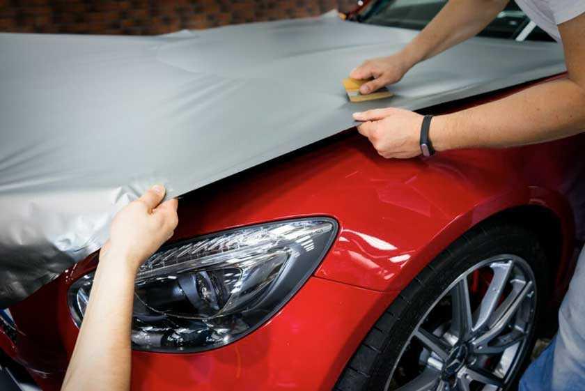 Инструкция, как своими руками наклеить пленку на авто в домашних условиях