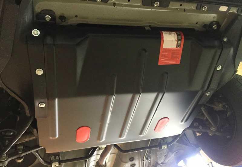 Защита картера двигателя: зачем нужна, установка
