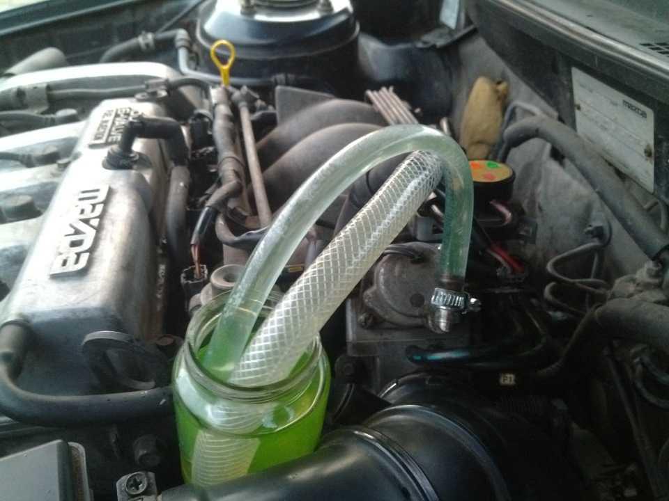 Как выгнать воздух из системы охлаждения двигателя?