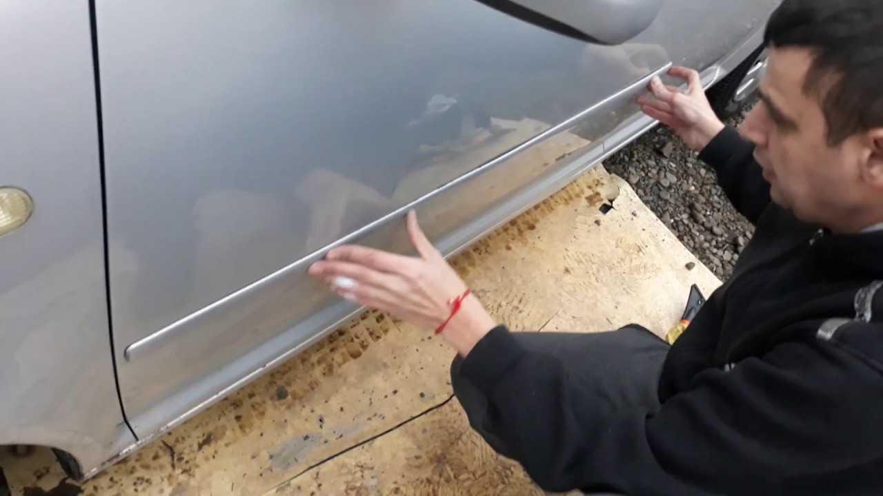 Как снять молдинг с двери автомобиля и установить его обратно? инструкция и советы