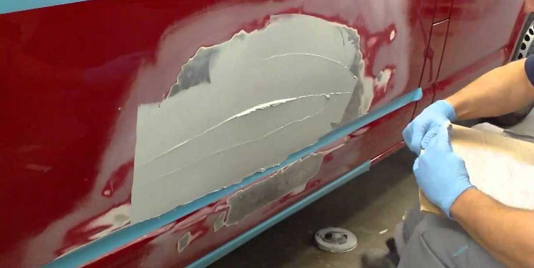 Как шпаклевать машину своими руками под покраску