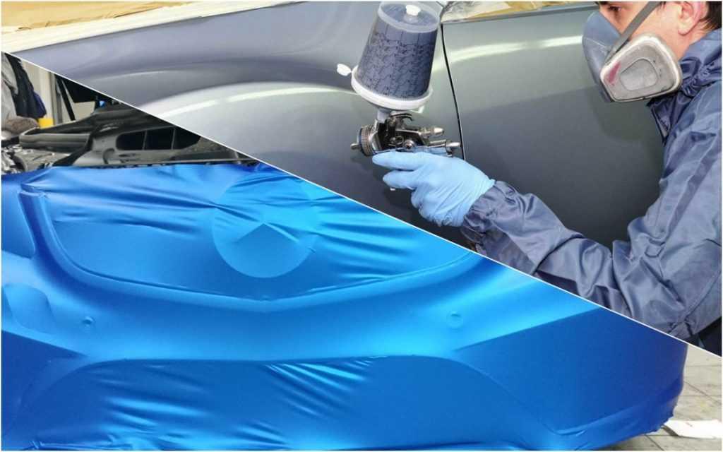 Как правильно клеить виниловую пленку на авто