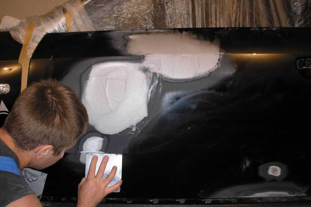 Как шпаклевать машину? как шпаклевать под покраску? шпаклевка для авто :: syl.ru