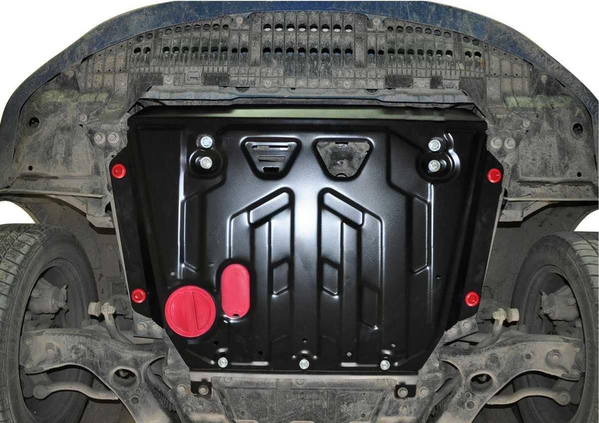 Как самостоятельно выбрать и установить защиту поддона картера двигателя Выбор материалов изготовления, основные параметры, особенности установки защиты