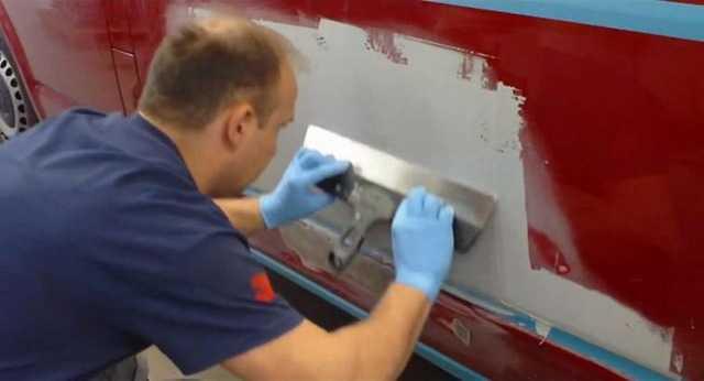 Инструменты необходимые для шпаклевания авто Подготовка кузова машины к покраске Инструкция по шпаклевке кузова машины перед покрасочными работами