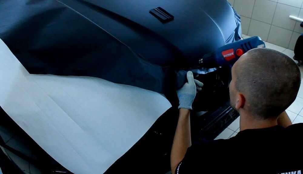 Как клеить виниловую плёнку на автомобиль?   блог максимум.рф