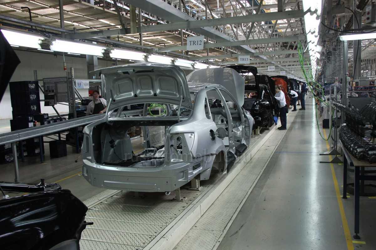 Список авто с оцинкованным кузовом и различными способами нанесения покрытия