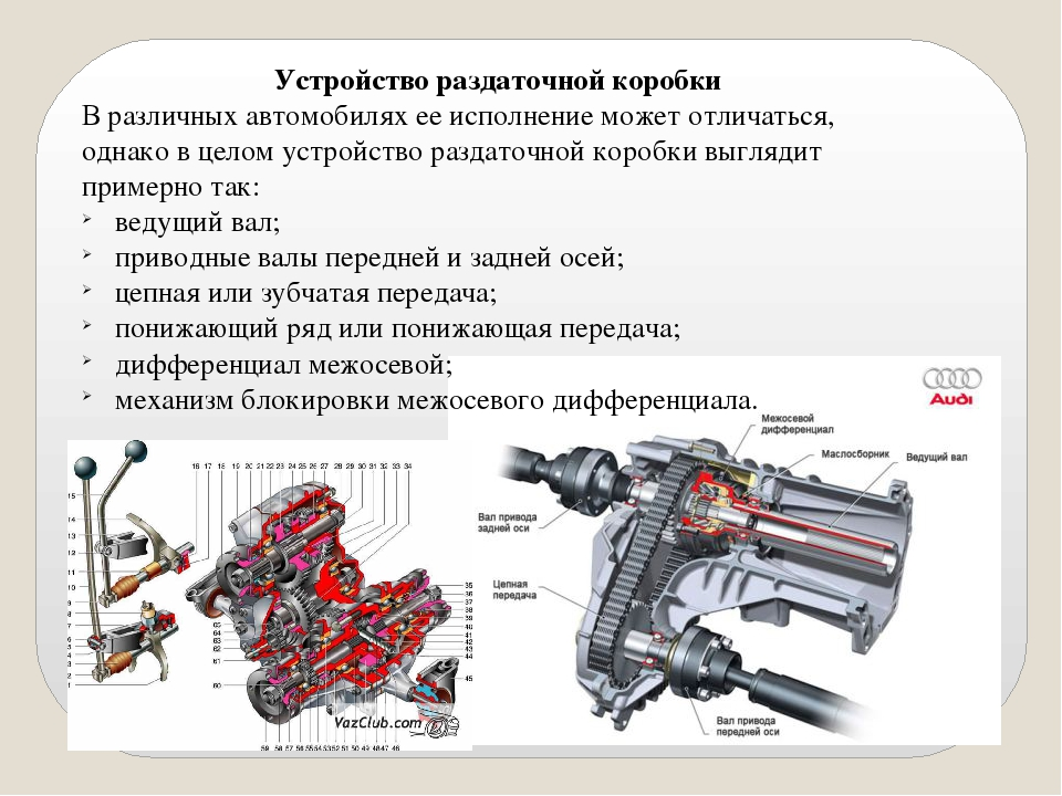 Раздаточная коробка мтз 82: устройство, режимы работы и ремонт