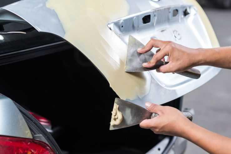 Как правильно шпаклевать крышу автомобиля?