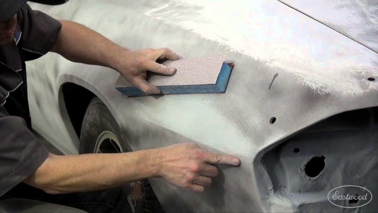Как правильно шпаклевать машину перед покраской