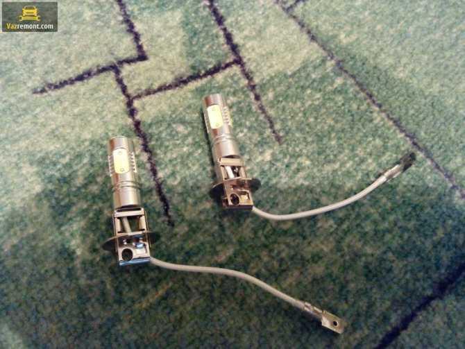 Замена галогенвых ламп в птф на ксенон