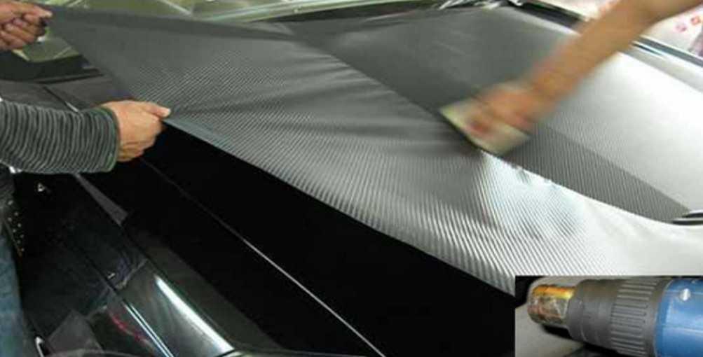 Как правильно обтянуть салон машины виниловой пленкой (фото галерея)