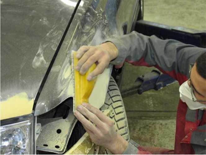 Как сделать автомобильную шпаклевку - журнал про авто