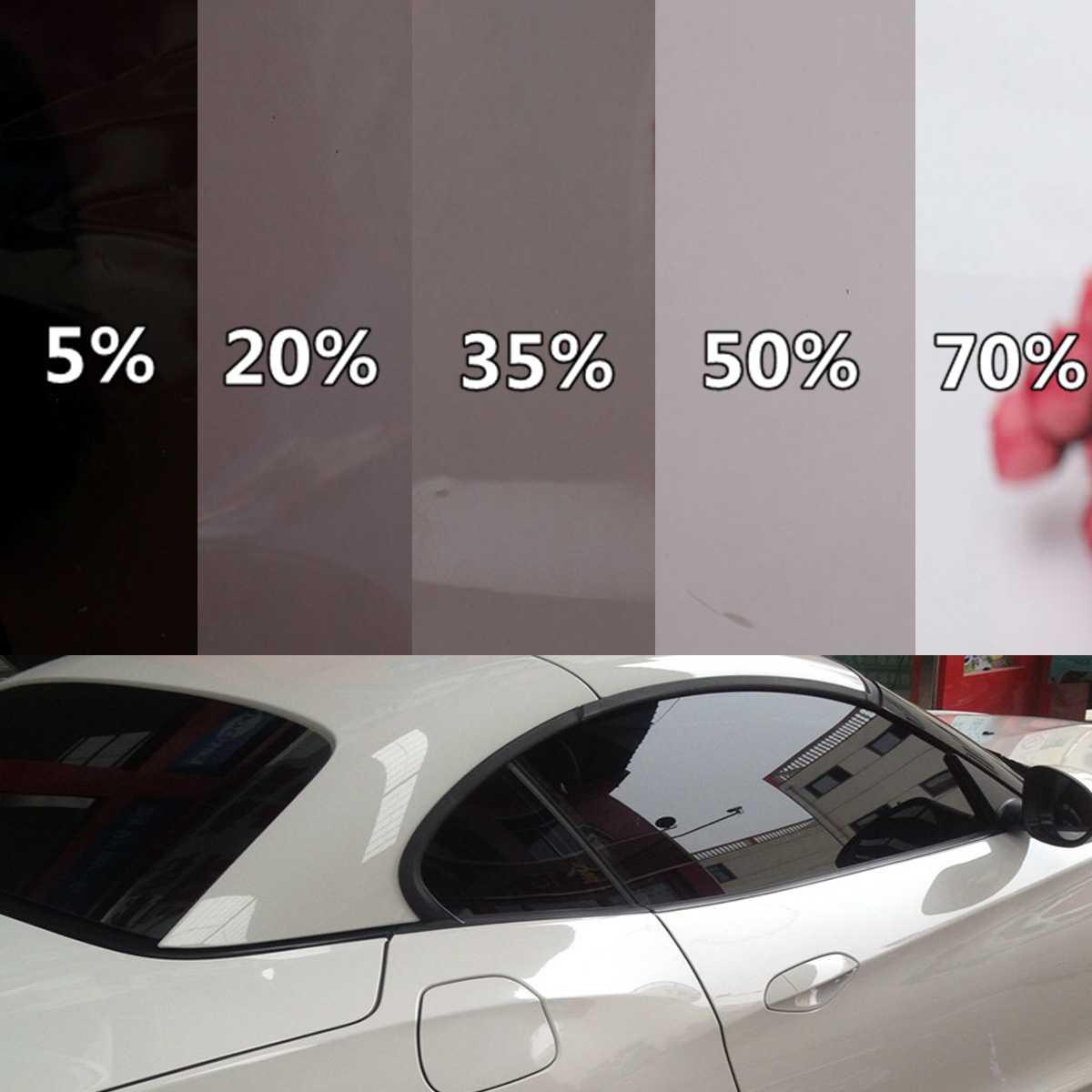 Какой процент тонировки стекол автомобиля выбрать?