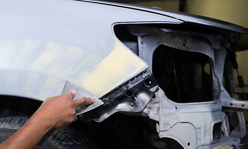 Как шпаклевать машину? как шпаклевать под покраску? шпаклевка для авто