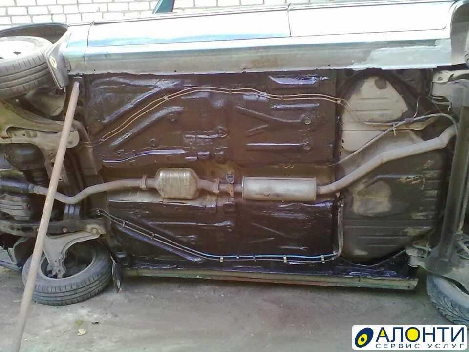 Ремонт кузова автомобиля своими руками от ржавчины и дыр