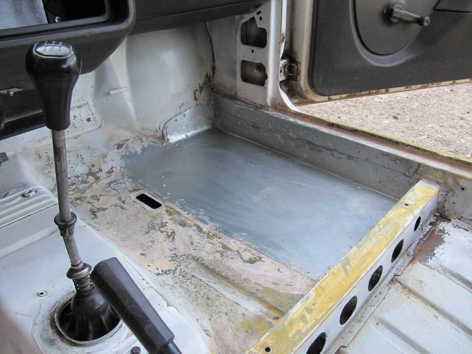 Ремонт сквозной коррозии кузова автомобиля без сварки